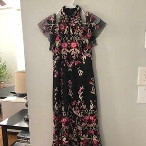 Shoshanna Midnight Midi Dress